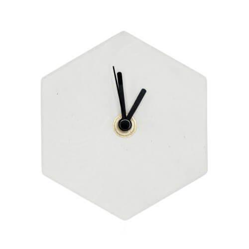 Valence_MonoClock_Concrete_White