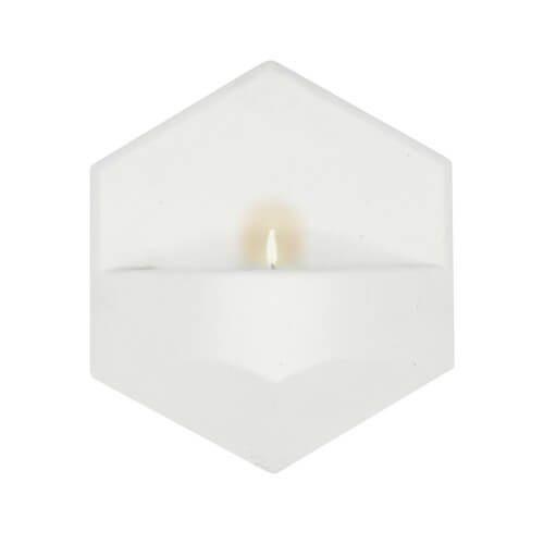 MonoFlame Concrete White